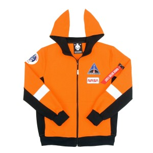 Bluza dresowa NASA ARES Orange Emergency